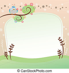 vector, tarjeta de felicitación