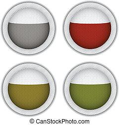 vector tea bags circle
