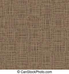 vector, tejido, textile., natural, cubierta, servilleta, ilustración, fondo., lino, hilos, cubiertos, tabla, texture.