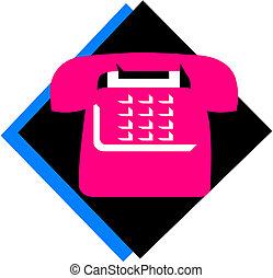 vector telephone