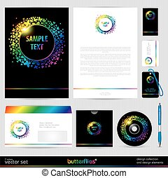 Vector Template Background.
