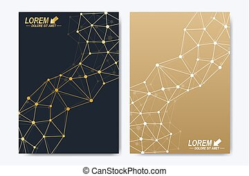 Vector template for brochure, Leaflet, flyer, advert, cover,...