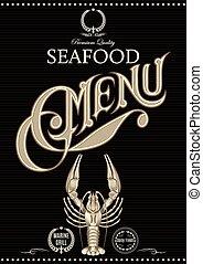 vector template for restaurant menu