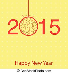 Vector template greeting cards for new year greetings.