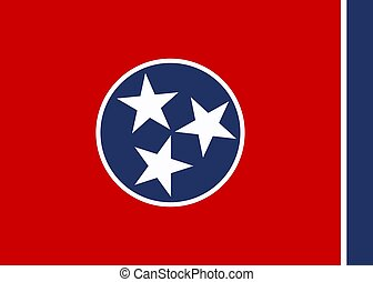 Vector Tennessee flag