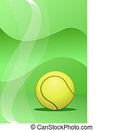 Vector tennis background