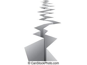 vector, terremoto