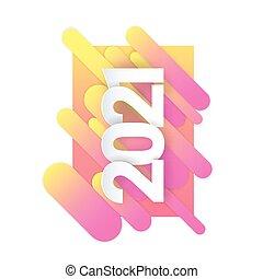 Vector text Design 2021.