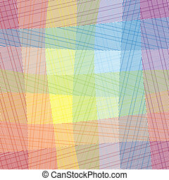 Vector Textile - Elegance Vector Checkered Textile Pattern