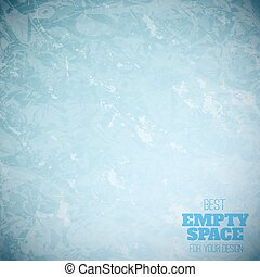 Grunge blue paper vector texture
