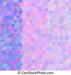 Vector texture of colored triangles kaleidoscope mosaic