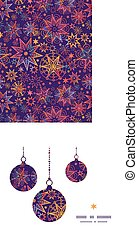 Vector textured christmas stars Christmas ornaments...