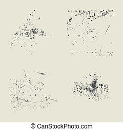 Vector Textures Scratches - Vector scratches