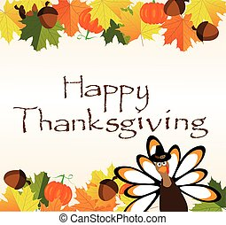 thanksgiving background - vector thanksgiving background