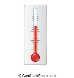 vector thermometer