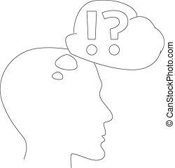Vector thinking head