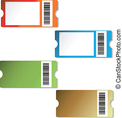 Vector tickets