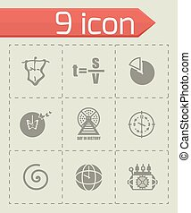 Vector Time icon set