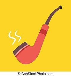 Vector Tobacco Pipe Icon
