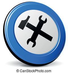 Vector tools 3d icon