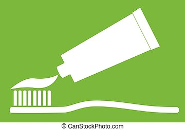 Tooth Paste and Tooth Brush - Vector Tooth Paste and Tooth ...