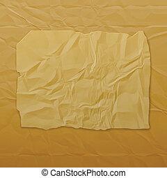 Vector torn paper. Eps10
