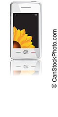 Vector touchscreen smartphone