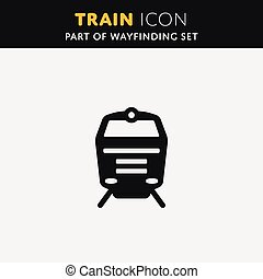 Vector Train icon