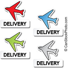 Vector transport pointers - airplane delivery