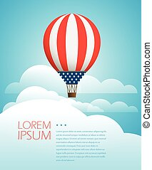 Vector travel illustration. Template for a text