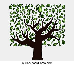 vector tree illustration