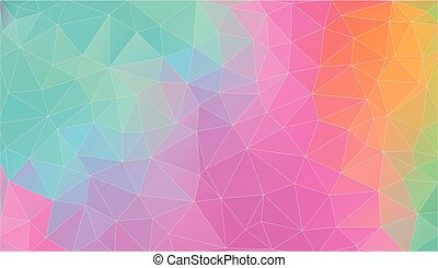 Vector triangle background. Bright color. EPS 10