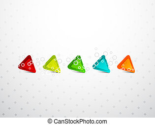 Vector triangle background - Vector illustration for your...