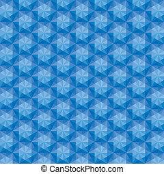 vector triangular mosaic seamless pattern