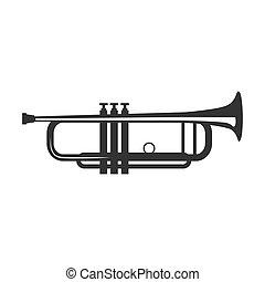 vector, trompeta