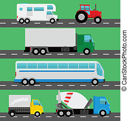 Vector trucks