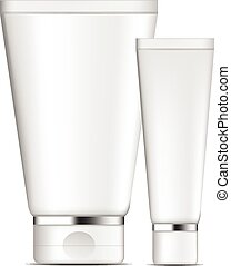 Vector tube cream template