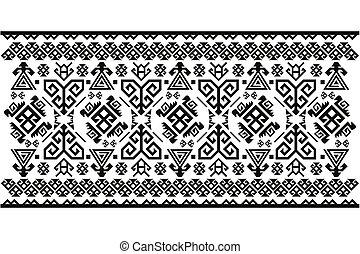 Turkish Carpet - Vector Turkish Carpet Pattern design