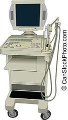 Vector ultrasonic device. Ultrasound - Vector ultrasonic ...