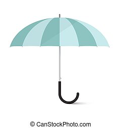 Vector Umbrella Illustration Isolated on White Background