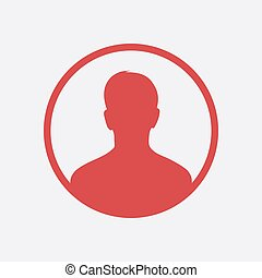 Vector user icon - User sign icon. Person symbol. Human ...