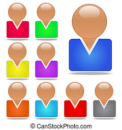 Vector User Icons