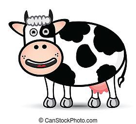vector, vaca