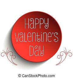 Valentine Day I Love you Button