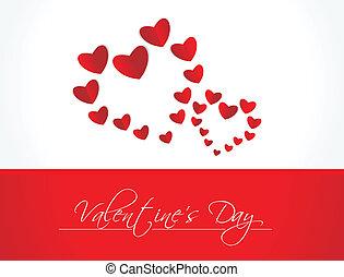 Vector valentines day background.