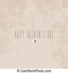 Vector Valentine's day card, banner