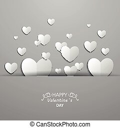 Vector Valentines Day Card