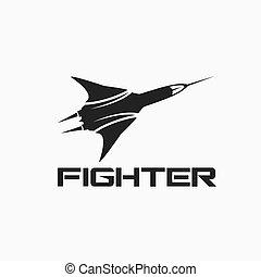 vector, vechter vliegtuig