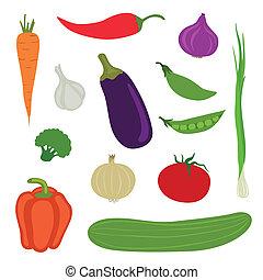 Vector Vegetables