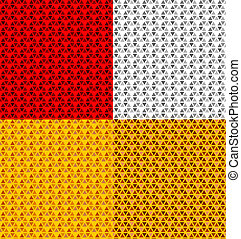 vector vehicle reflector seamless pattern
